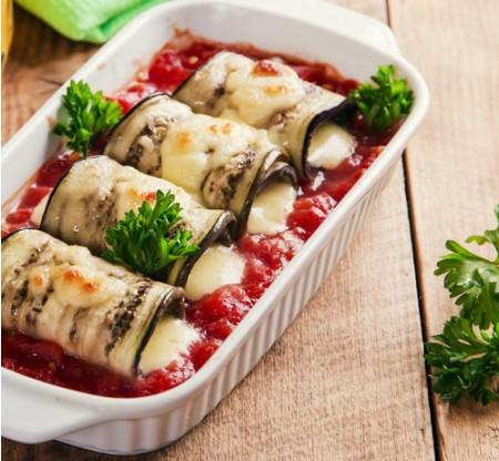 Eggplant Roulades Heat & Serve -- 1 day notice needed