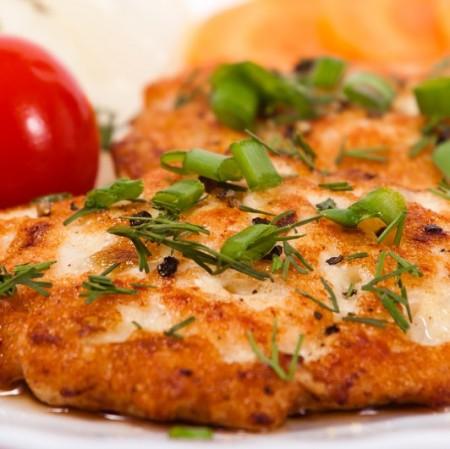 Chicken Cutlet prepared fresh, Heat & Serve