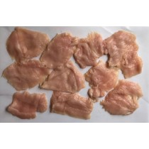 Chicken cutlets -- thin cut for rolling, stuffing, or such specialties as chicken marsala